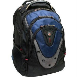 "SwissGear 17"" Blue Notebook Backpack"